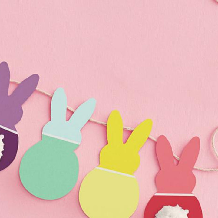 Fun & Safe Easter Craft for Kids: Make an Easter Garland!