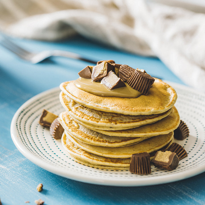 Sunflower Butter Cup Pancakes