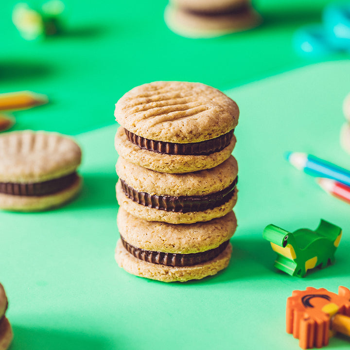 Sunflower Butter Cup Sandwich Cookies