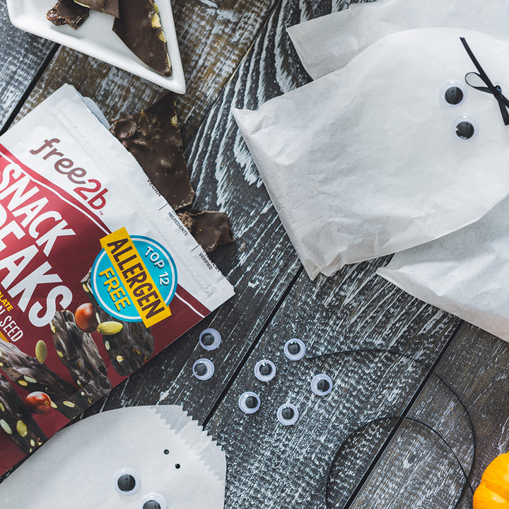 Snack Breaks Ghost Bags