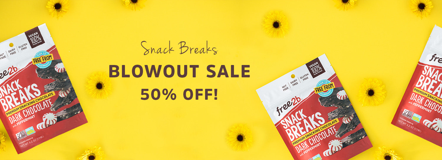 Snack Breaks Blowout Sale - 50% Off!