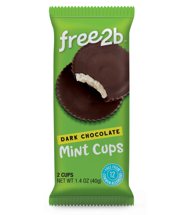 Dark Chocolate Mints Cups