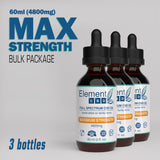 Full Spectrum CBD oil - Maximum Strength 4800 mg (60 mL)