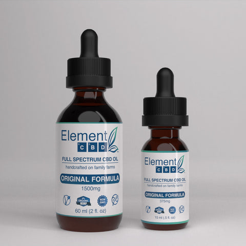 Full Spectrum CBD Oil - Original Formula Bundle (60 mL + 15 mL)