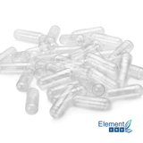 100 Empty Vegetable Capsules - Element Health