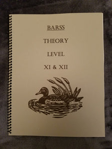 Barss Theory: Level 11/12