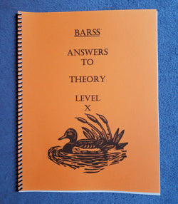 Barss Theory: Level 10 Answer Book