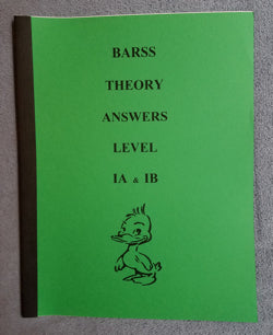 Barss Theory: Level 1 Answer Book