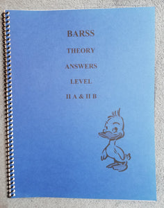 Barss Theory: Level 2 Answer Book