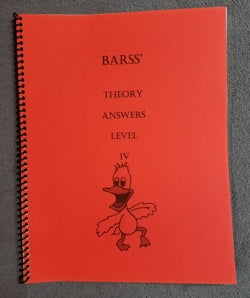 Barss Theory: Level 4 Answer Book