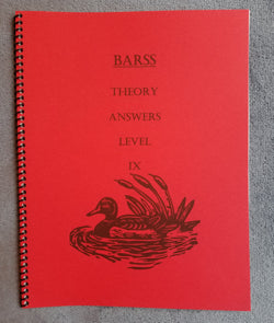 Barss Theory: Level 9 Answer Book