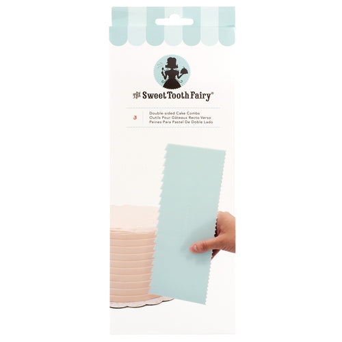 Cake Decorating Comb - The Sweet Tooth Fairy