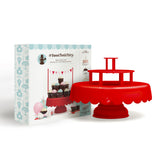 Red Teared Cake Stand