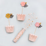 Pink Cupake Decorating Kit