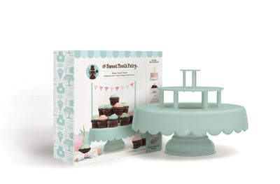 Mint Teared Cake Stand