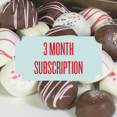 CAKEBITE® CLUB - 3 MONTH SUBSCRIPTION // 15% OFF