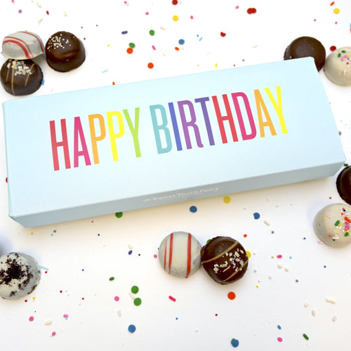 HAPPY BIRTHDAY CAKEBITES® GIFT BOX