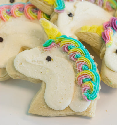 Delicious Unicorn Sugar Cookies Delivered