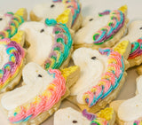 Unicorn Cookies - Unicorn Sugar Cookies