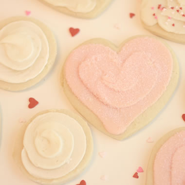 Heart Sugar Free Cookies