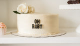 Cake Letterboard Decorations
