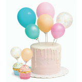 Mini Balloon Cake Topper