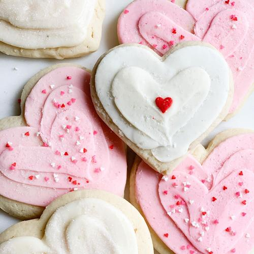 Valentine's Cookie Decorating Class with Megan Faulkner Brown at JeniBee Market