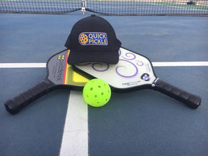 It's called pickleball? (how I explain it to my friends)