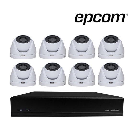 Kit de 8 Cámaras y DVR