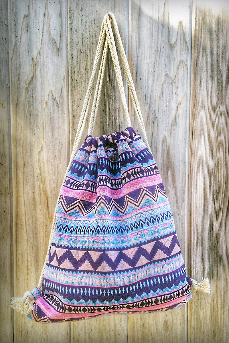 Gypsy Tribal Boho Backpack