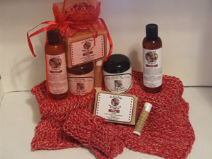 Sandalwood Soap, Lotion, Body Butter, Lip Balm, Cloth Supporting 1st Responders