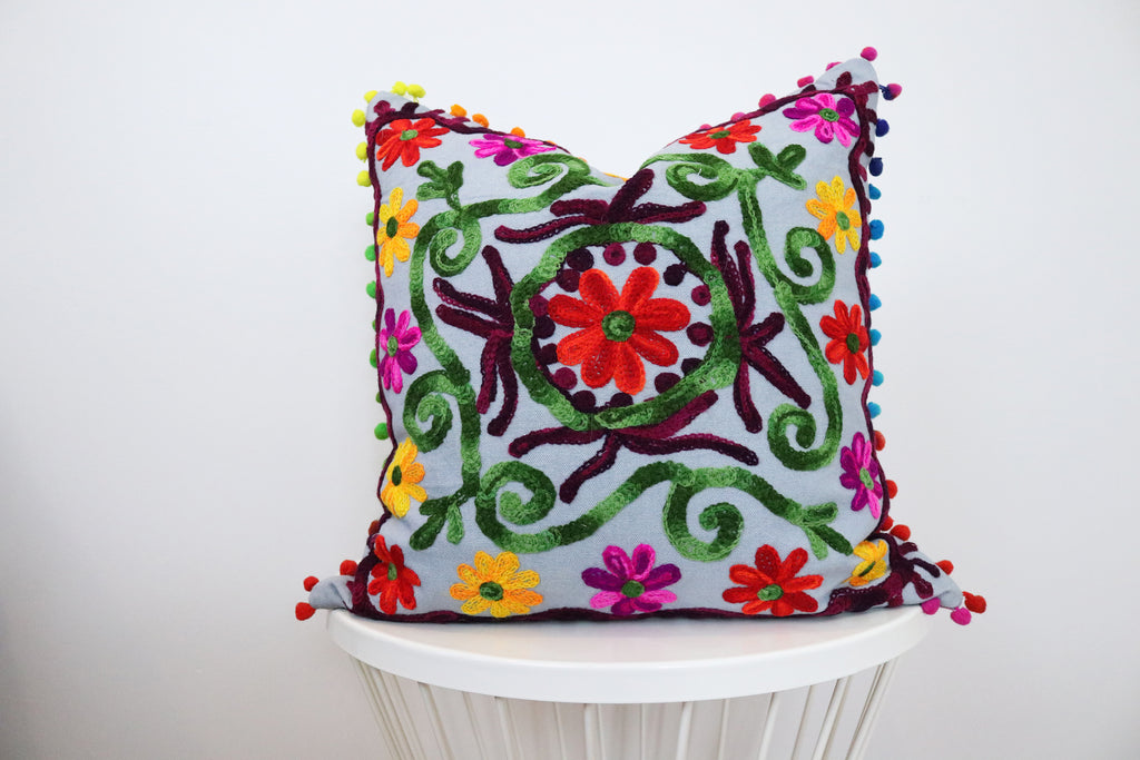 suzani pillow no. 4 - SHOP CORDUROY