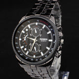 GENVIVIA Watches Relogio Masculino! Men's Watch Full Stainless Military Casual Quartz Clock Men