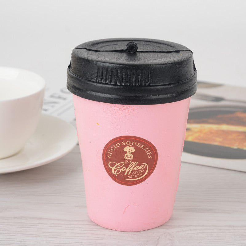 Soft Pink Coffee Cup