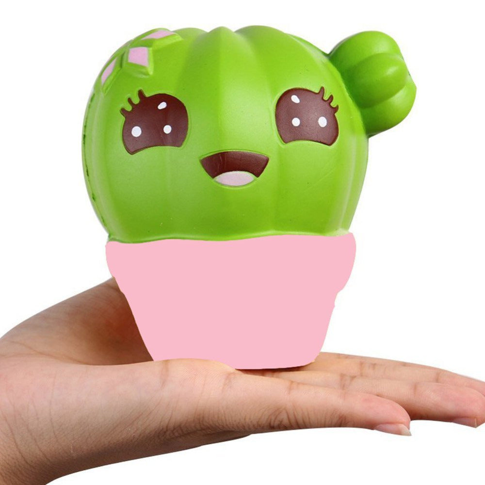 *NEW Cactus Squishy (Slow rising & Scented!)