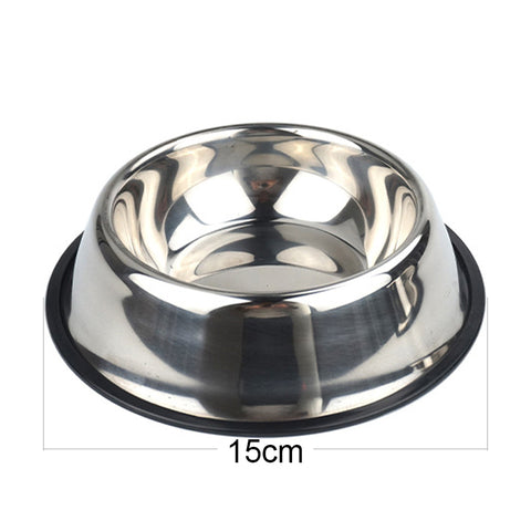 Stainless Steel Pet Bowls available in 6 Sizes