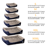 Soft Comfy Pet Bed - Available in 6 sizes & 8 colors