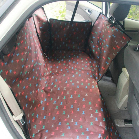 Adjustable Waterproof Vehicle Seat Cover - Available in 15 Colors & Patterns