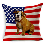 "18"" x 18"" UK & USA Pillow Covers - 4 Designs"