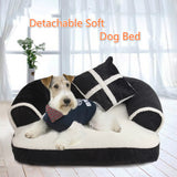 Luxury British Style Pet Bed - Available in 3 sizes & 3 colors