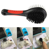 Double Sided Pet Brush for Dogs & Cats