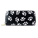 Women's Paw Print Wallet & Card Holder