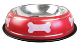 Stainless Steel Red Dog Bowl, Stainless Steel Red Cat Bowl, Stainless Steel Red Pet Bowl, Stainless Steel Red Water Dog Bowl, Stainless Steel Red Water Cat Bowl, Stainless Steel Red Water food Bowl