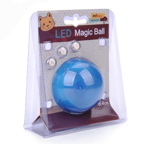 Play Ball for Cats with flashing laser light - 3 Colors Available
