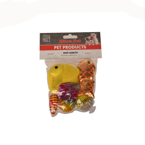 6-Pack of Assorted Interactive Cat Toys
