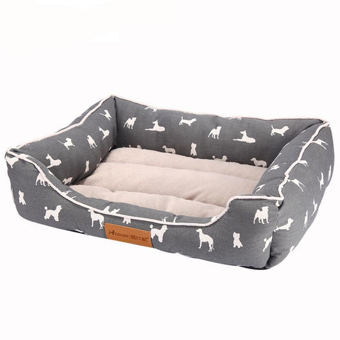 20% OFF Gray Durable Dog Bed - Available in 3 sizes
