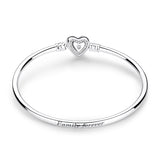 Sterling Silver & Cubic Zirconia Designer Bangle Collection