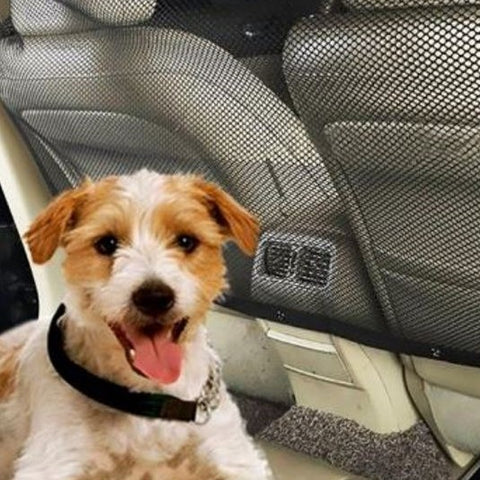 Automobile Seat Divider - Provides Pet and Driver Safety