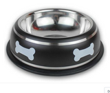 Stainless Steel Black Dog Bowl, Stainless Steel Black Cat Bowl, Stainless Steel Black Pet Bowl, Stainless Steel Black Water Dog Bowl, Stainless Steel Black Water Cat Bowl, Stainless Steel Black Water food Bowl