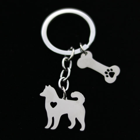Pick Your Favorite Dog Keychain - Select from 16 Breeds